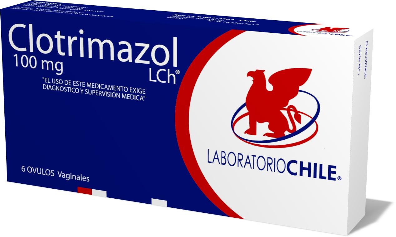 Clotrimazol pastillas