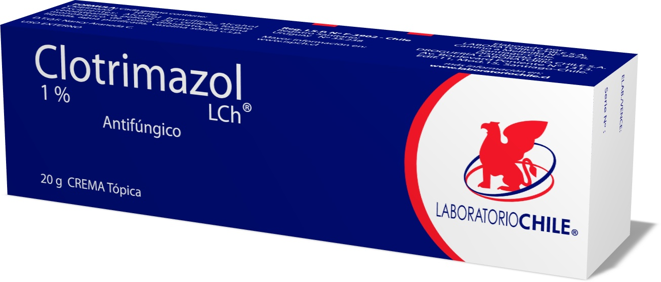 Clotrimazol 1%