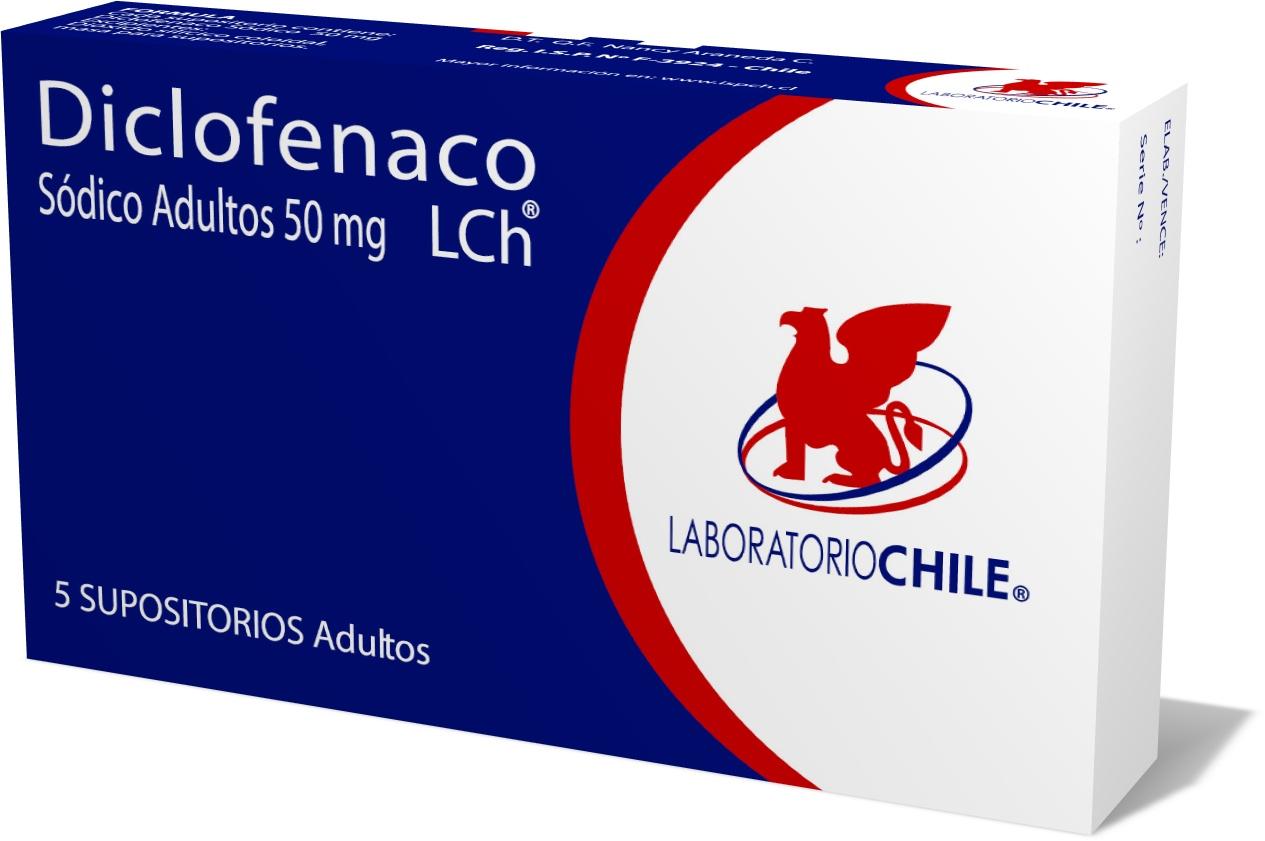Diclofenaco Sódico adultos 50 mg