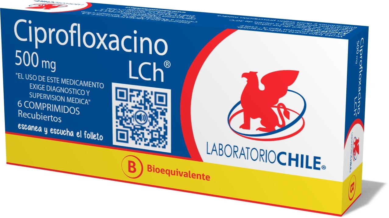 Ciprofloxacino 500mg