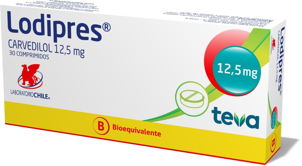 Lodipres 12,5 mg