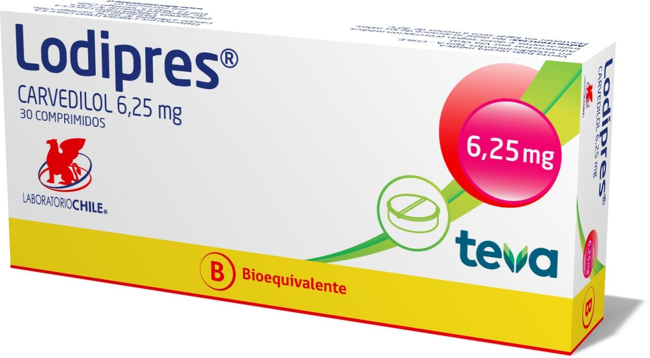 Lodipres 6,25 mg