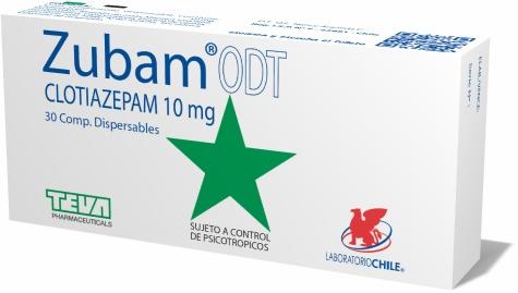 Zubam ODT 10 mg