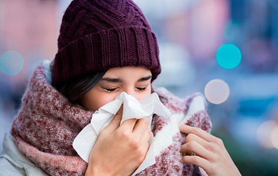 Cómo tratar el asma provocado por el clima frío