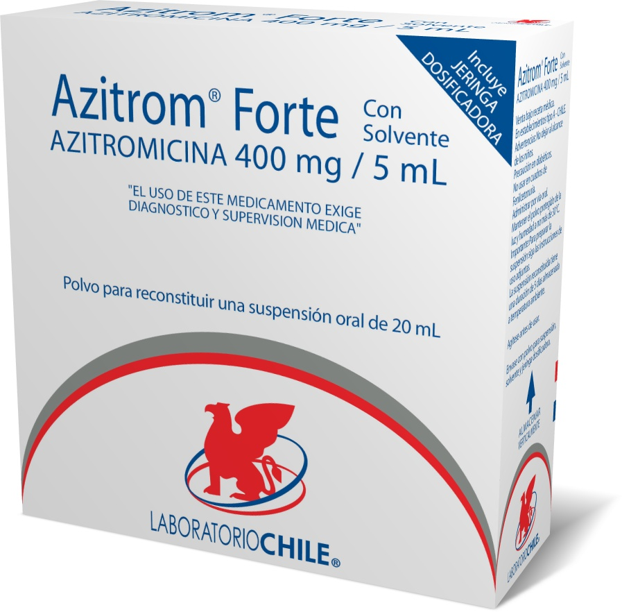 Azitrom Forte 400 mg / 5 mL