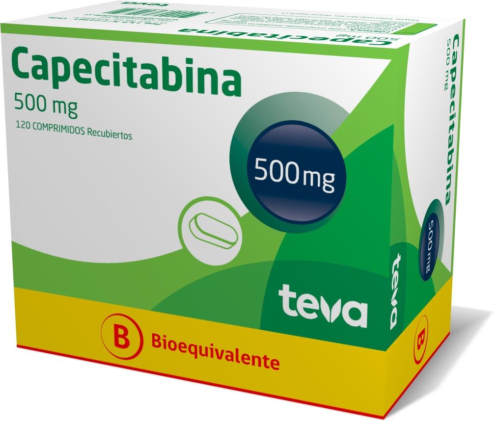 Capecitabina 500 mg