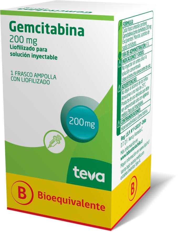 Gemcitabina 200 mg