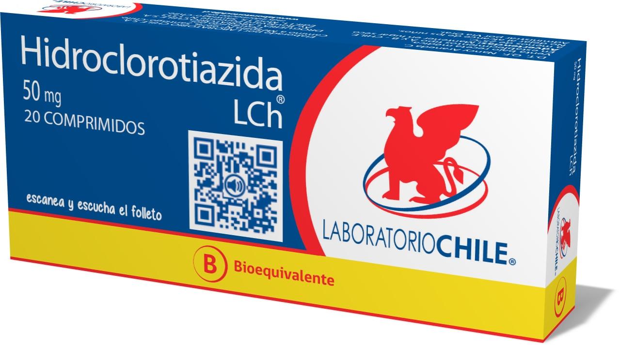 Hidroclorotiazida 50 mg