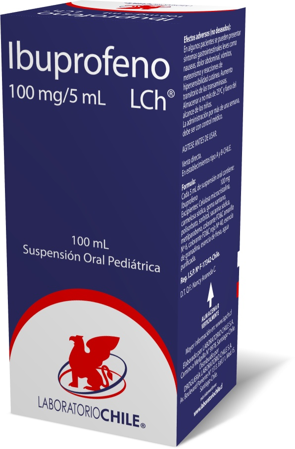 Ibuprofeno 100 mg / 5 mL
