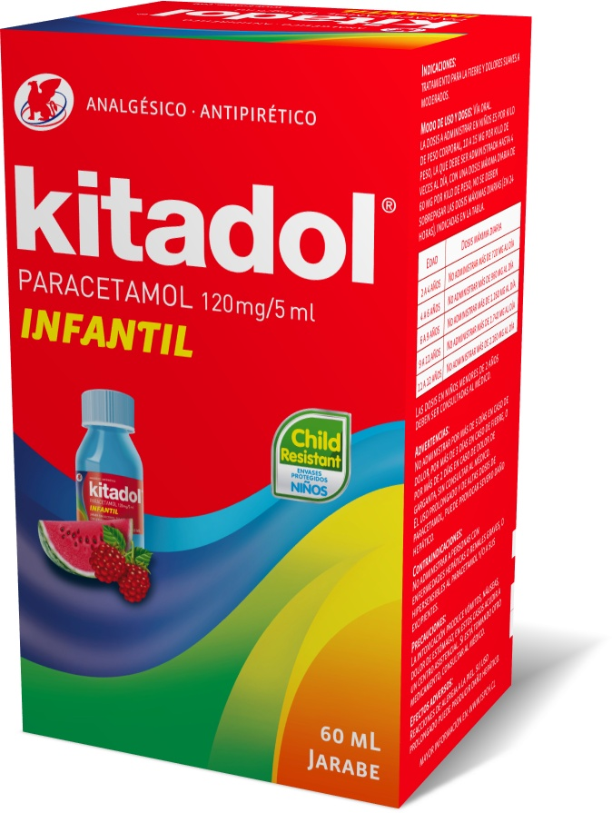 Kitadol Infantil Jarabe