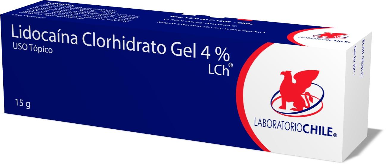 Lidocaína Clorhidrato Gel  4%