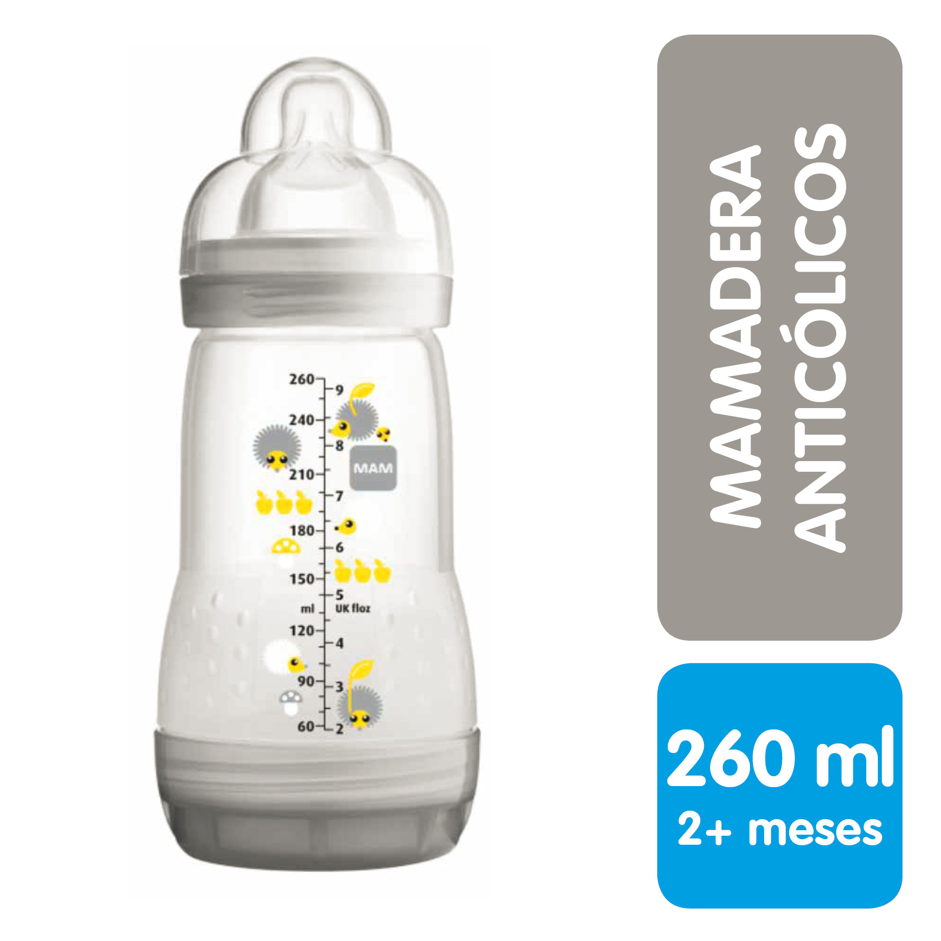 Mam Mamadera Anticólicos 260 mL