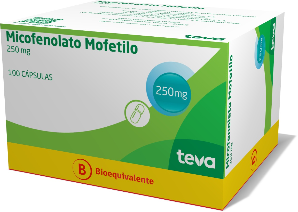 Micofenolato 250 mg