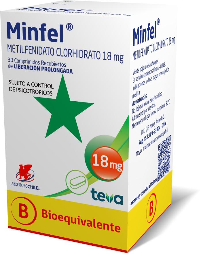Minfel 18 mg