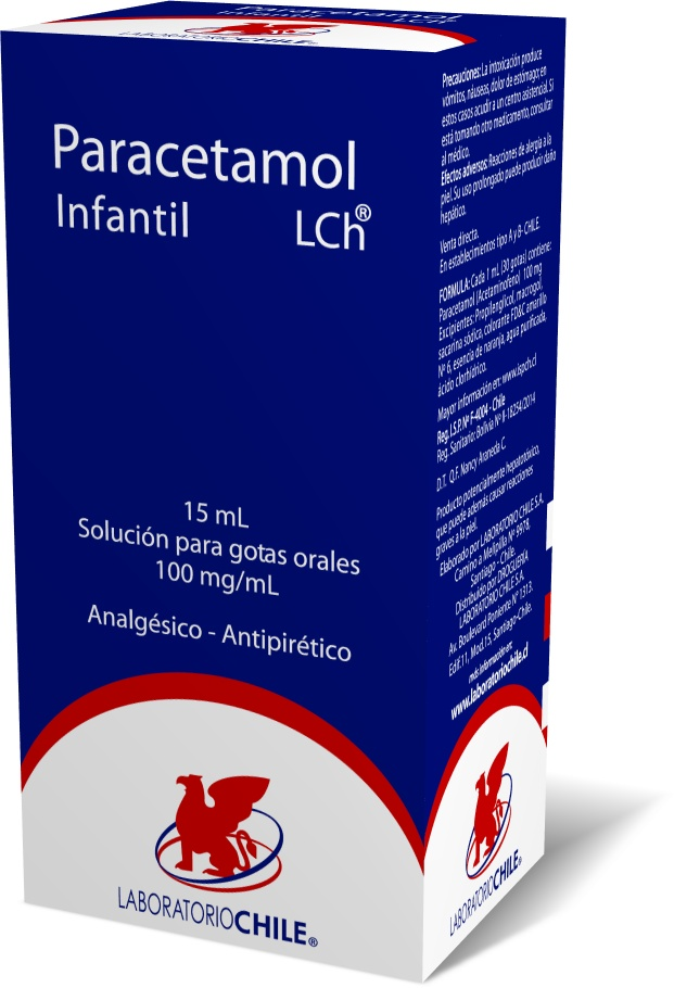 Paracetamol Infantil 100 mg / mL
