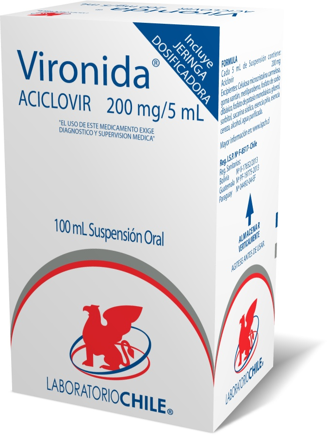Vironida 200 mg / 5 mL