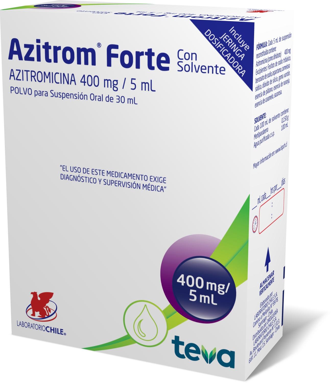 Azitrom Forte 400 mg / 5 mL