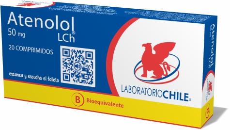 Atenolol 50 mg na